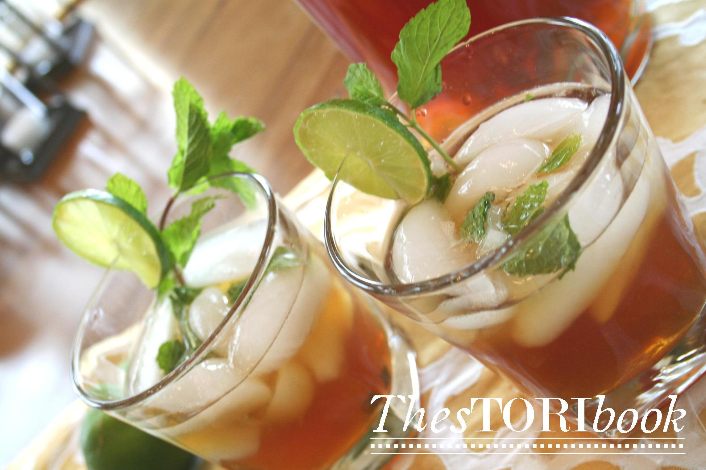 Delicious sweet tea mojito recipe